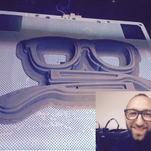 Occhiali stampati in 3D al Coworking Como